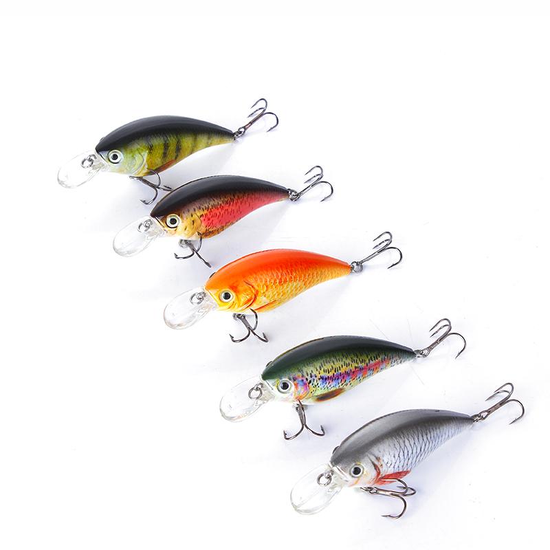 3Pcs Bait 16.5g Fishing Lures Spinner Beard scale Bass Pike JJig Tackle Hooks EN