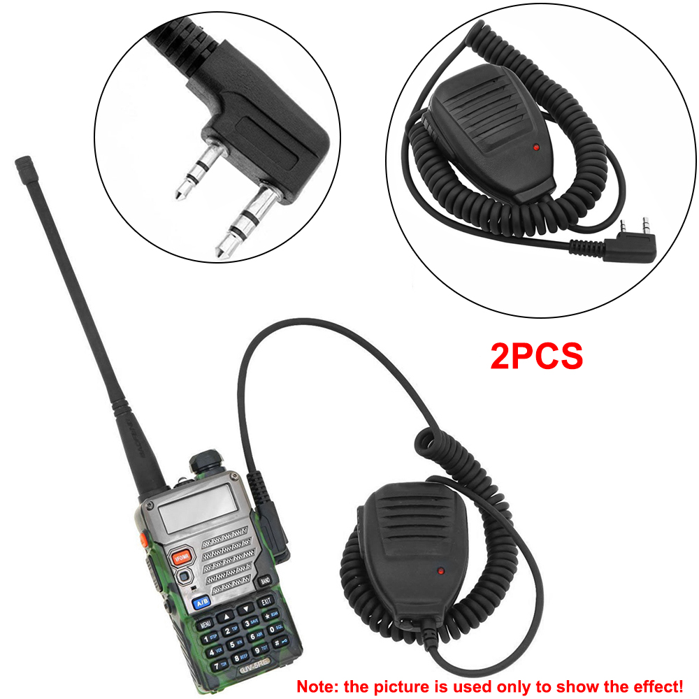 2PACK Speaker Mic For BAOFENG UV5R Plus UV5RE Plus UV-B6 BF888s BF666s A062