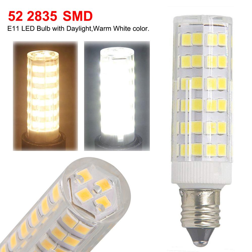 5x Mini E11 Bulb Candelabra LED Dimmable Ceiling Fan Table//Desk//Floor Lamp Light