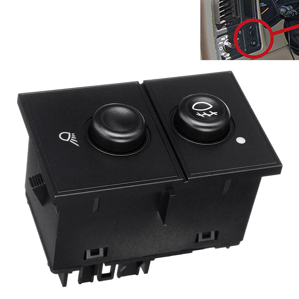 Fog Light /& Cargo Lamp Switch for 03-07 GMC Sierra 1500 2500 3500 15143597 US