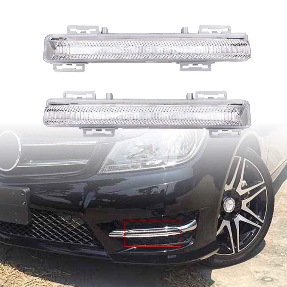 T/ürgriff f/ür Mercedes W204 X204 Links Bright Light