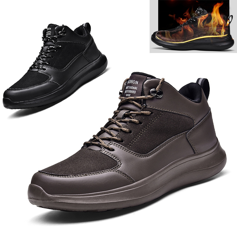 MENS HIKING BOOTS WALKING ANKLE WIDE FIT TRAIL TREKKING TRAINERS NEW SHOES SZ UK