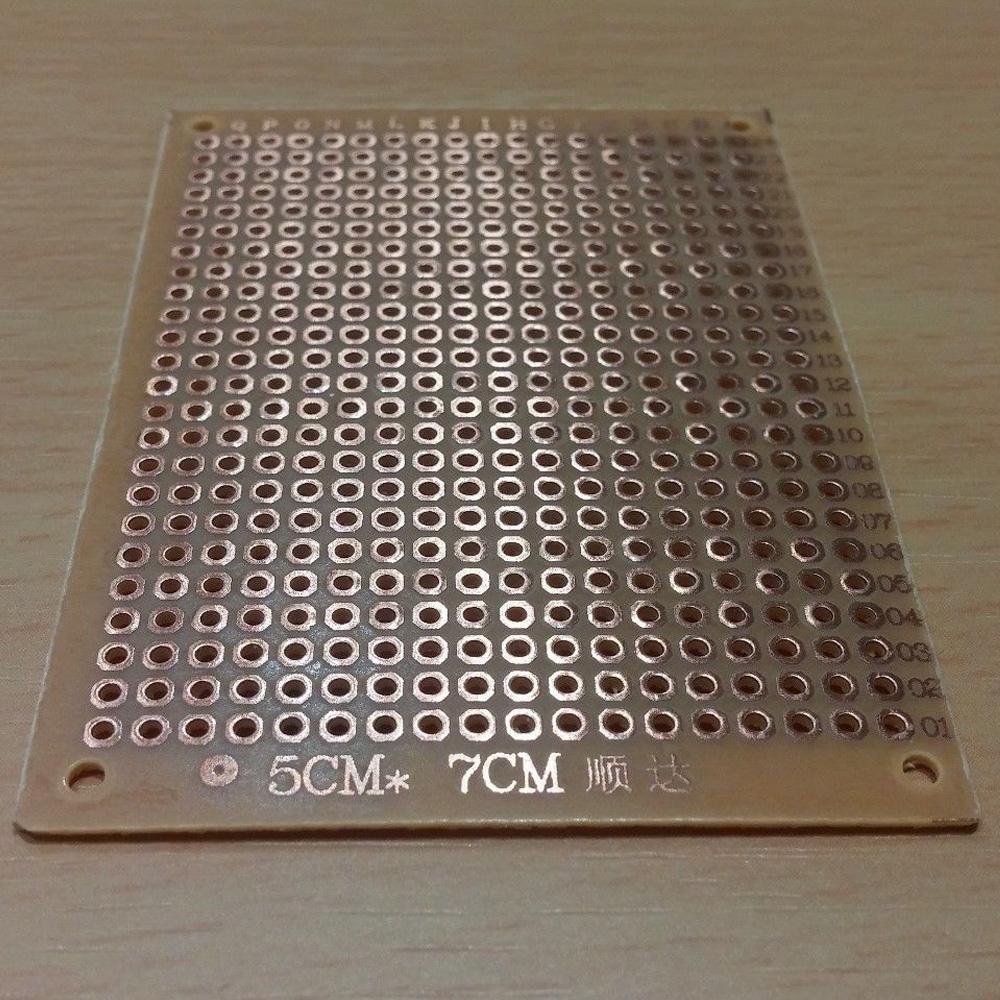 5x7cm New Diy Pcb Universal Prototype Paper Matrix Circuit Board 7cm Experiment Product Description