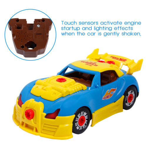 Kid Child Assembly Car Take Apart Race KIT-SET Construction Baby Toy Car Gift