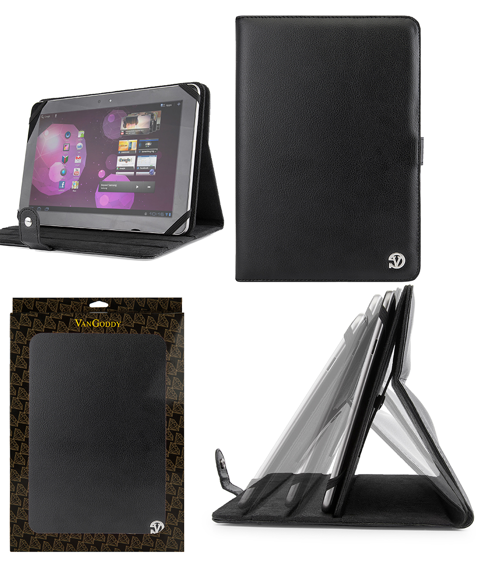 online retailer e7040 9e981 VanGoddy Leather Tablet Stand Case Cover for 8