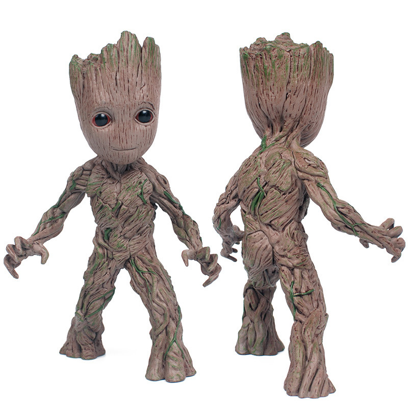 Teen Baby Groot Metall Actionfigur Rocket MARVEL Guardians of the Galaxy