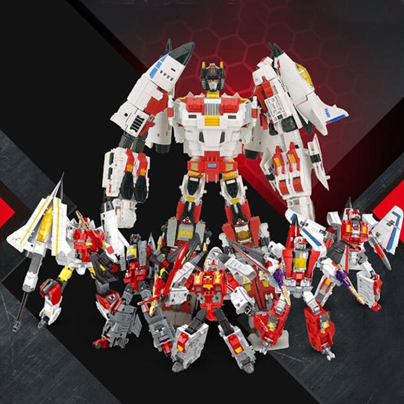 Mini Battleplane Transformers Transformation Robot Funny Action Figure Model Toy