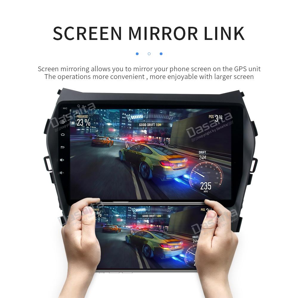 Details about 4+32G Android 8 0 Radio for Hyundai Santa Fe IX45 Stereo GPS  Navigation Headunit