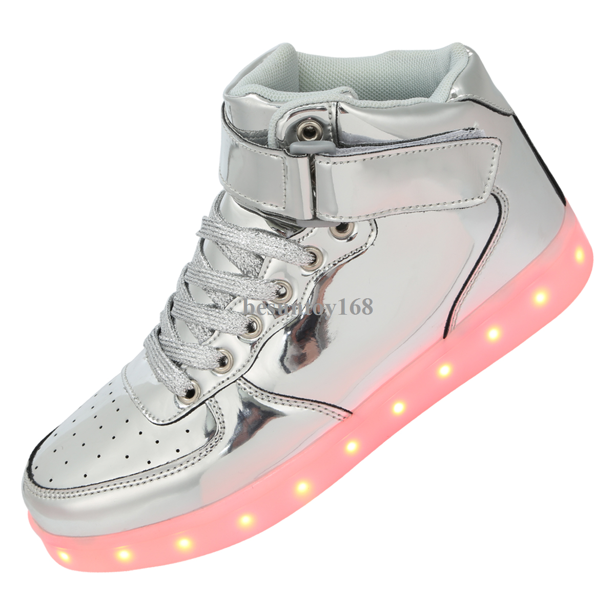 Details About Shinynight Usb Charging 11 Colors Led Light Up Shoes Fashion Sneakers Sport Shoe