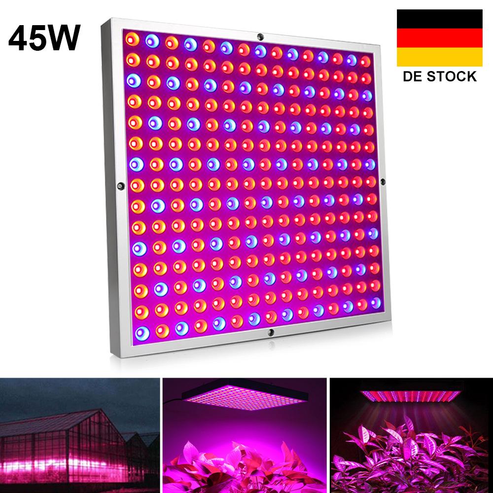 vollspektrum 45w led pflanzenleuchte lampe licht wachstumslampe grow wuchs bl te ebay. Black Bedroom Furniture Sets. Home Design Ideas