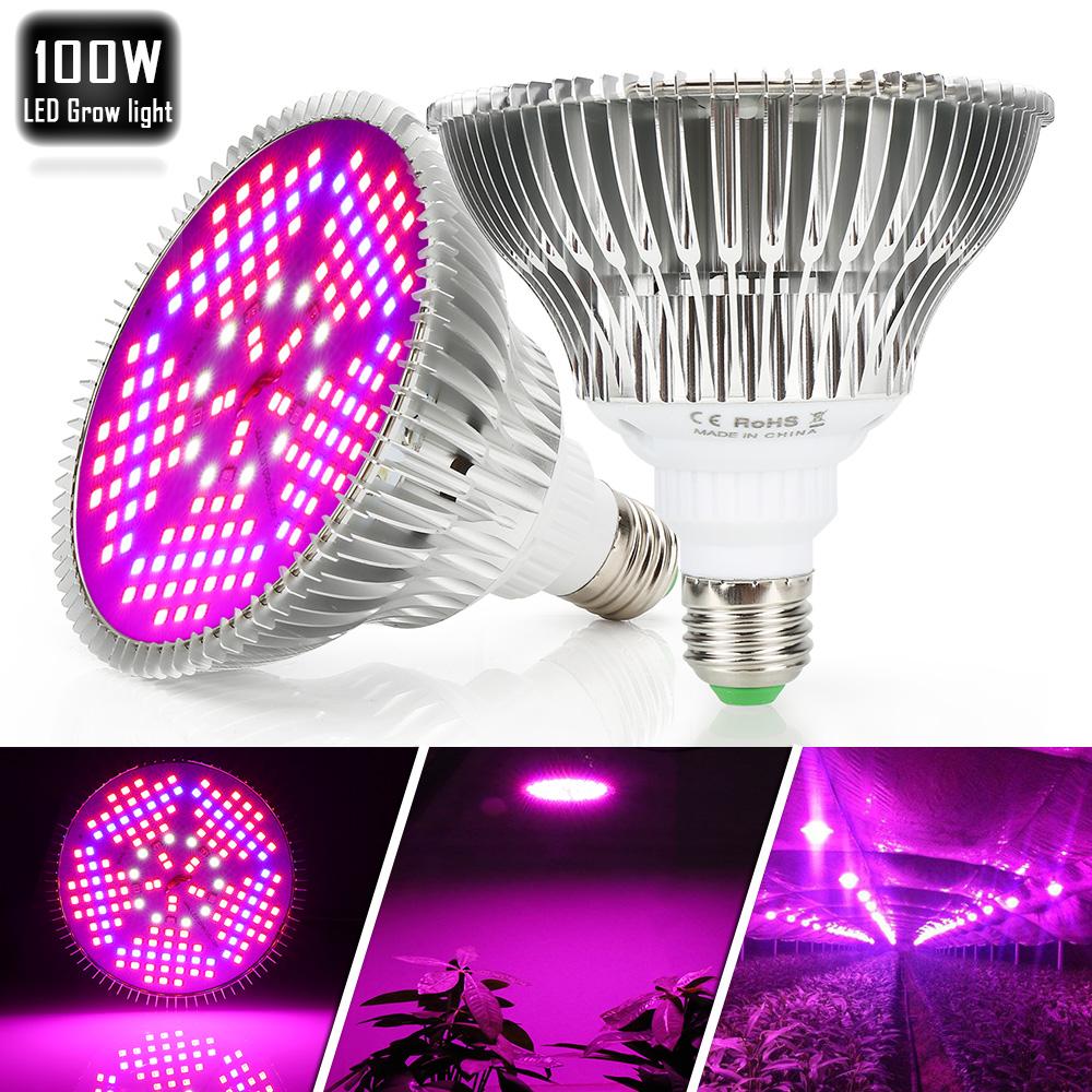100W Voll Spektrum LED Grow Light Pflanze Lampe für Zimmerpflanze ...
