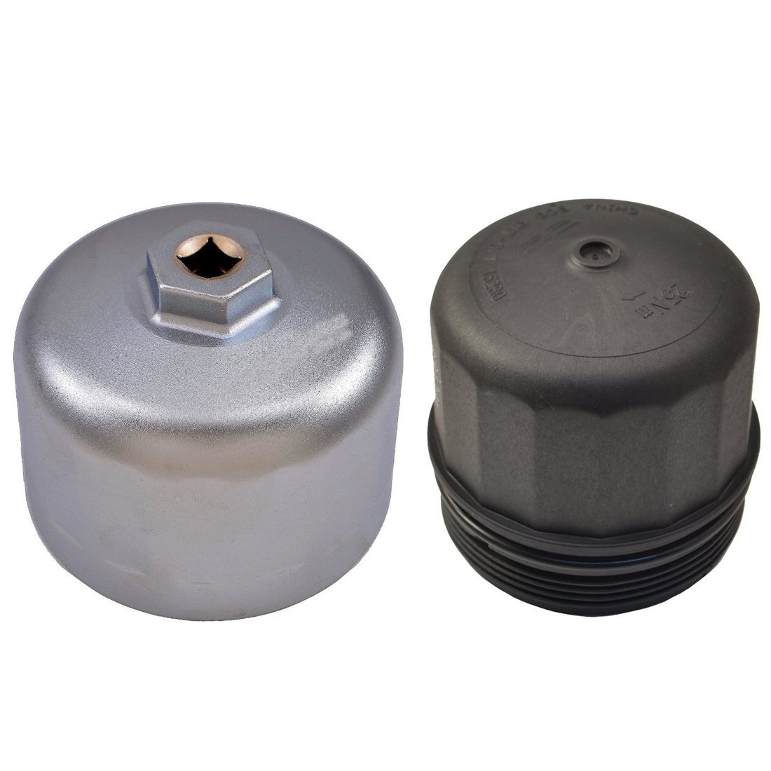 Oil Filter Wrench 86mm Cartridge Style Housing Cap Remover Tool For BMW Volvo #B 7437550736722 ...