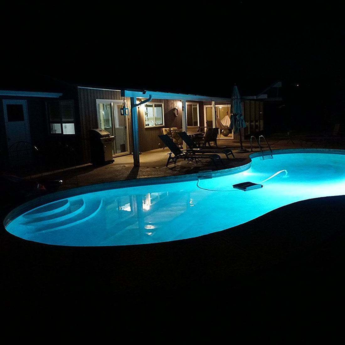 120v 6500k white swimming pool led light bulb replacement - Swimming pool light bulbs halogen ...