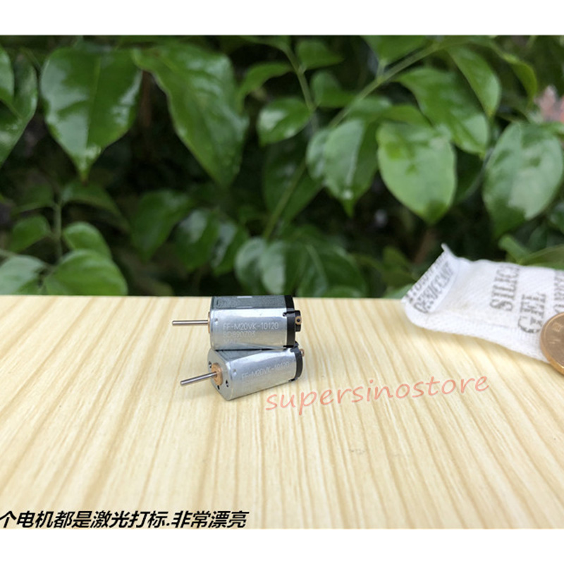 2pcs For Mabuchi FF-M20VK-10128 DC3V 4000RPM Metal Brush Motor for DIY