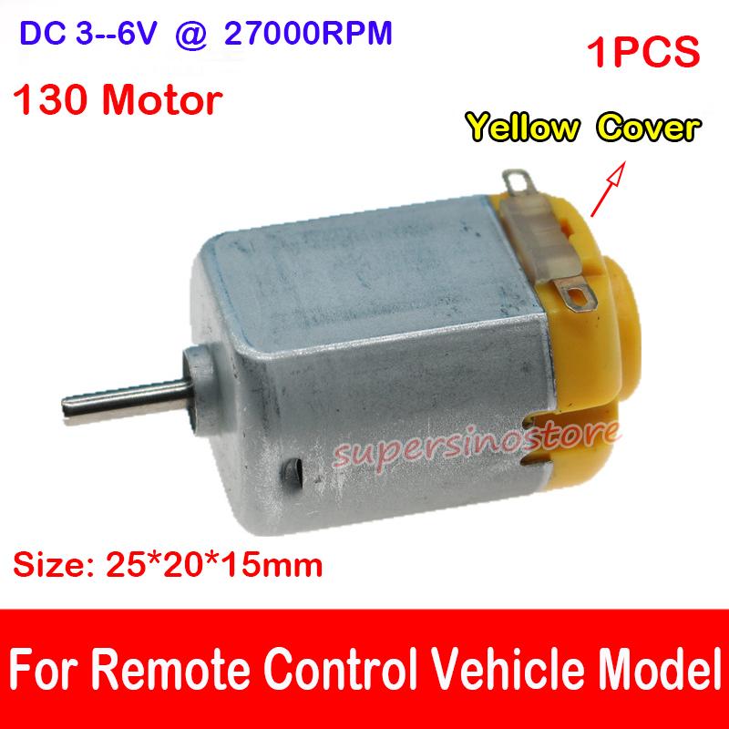 DC 6V 9V 12V 27000RPM High Speed Power Mini 15mm DC Motor DIY RC Car Boat Toy