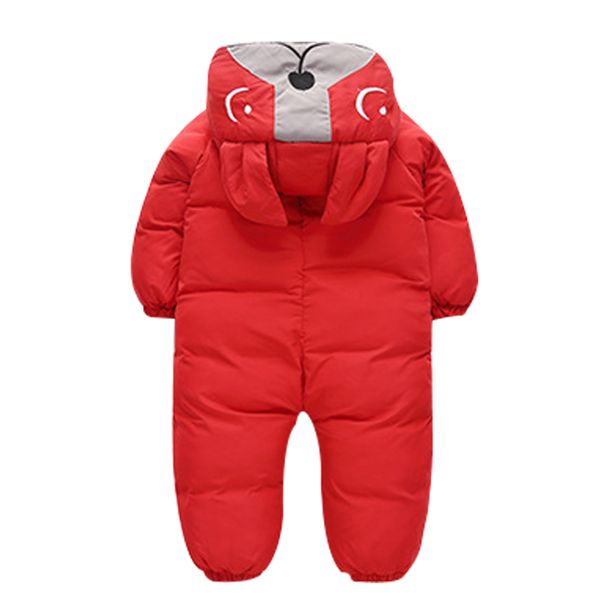 Curipeer Baby Boys Girls Snowsuit Infant Toddler Sleeveless Outfit Warm Winter Clothes Outwear Romper 1-6T