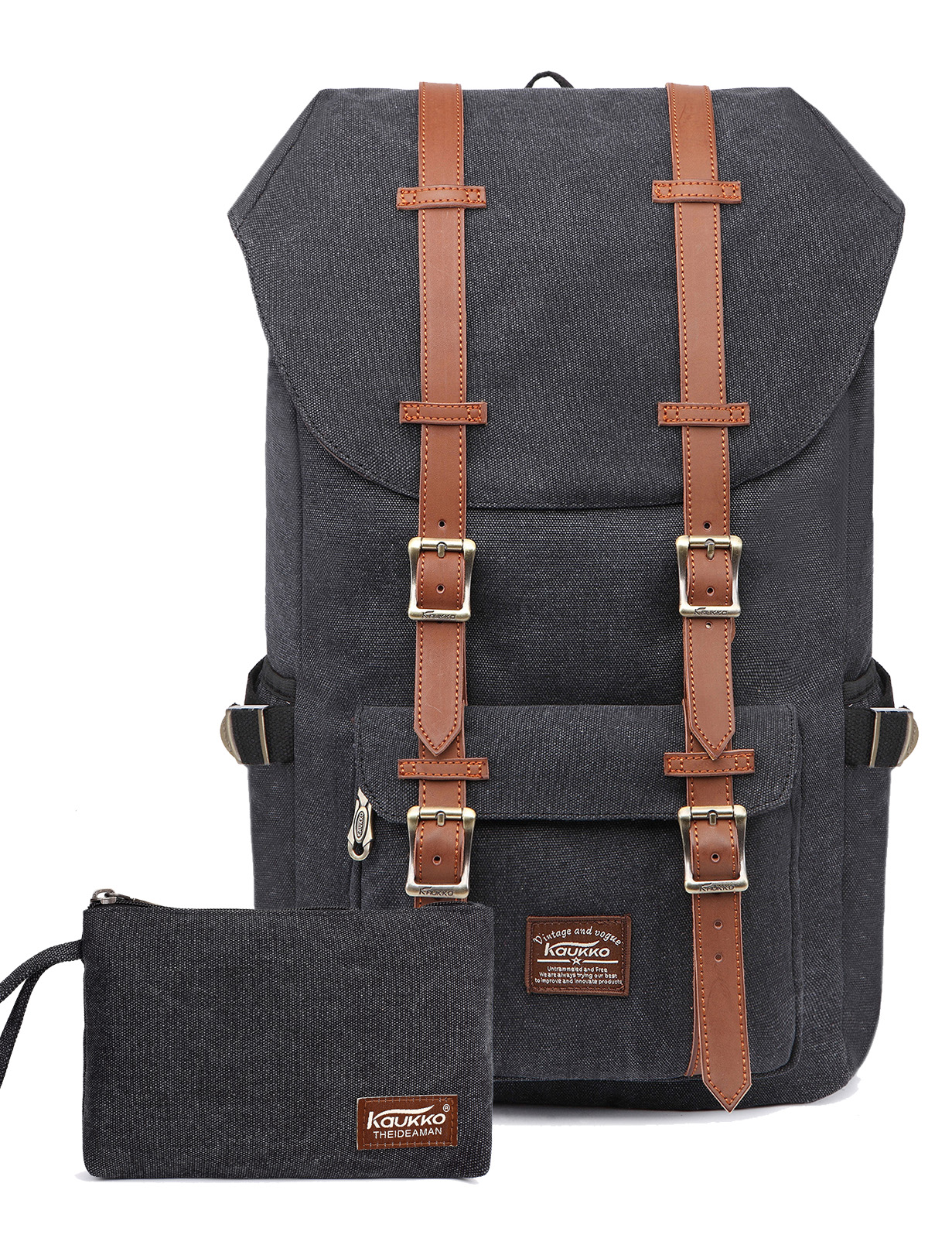 Laptop Outdoor Backpack Travel Hiking Camping Rucksack Casual Daypack KAUKKO 485a2def6e9af