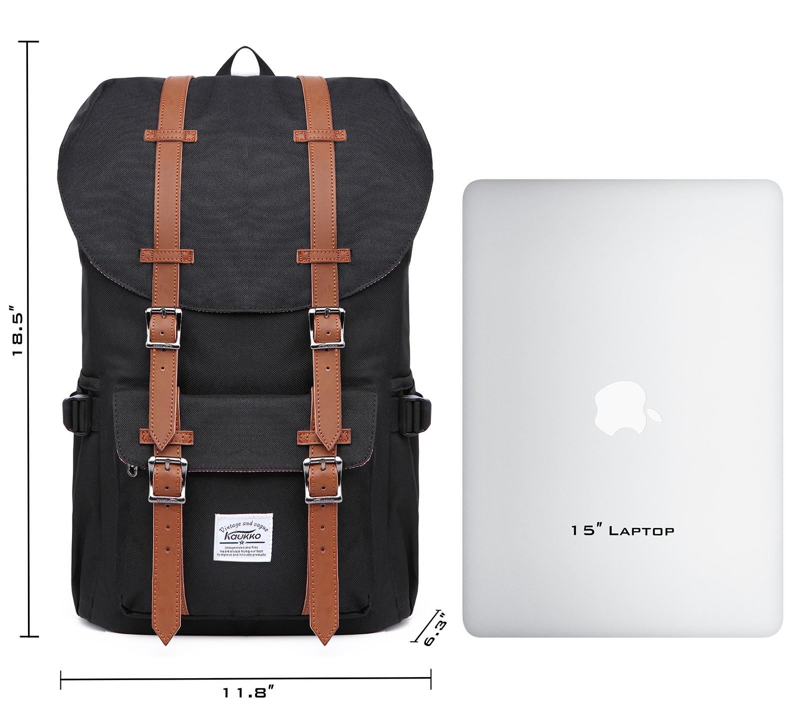 laptop outdoor backpack travel hiking camping rucksack shoulder