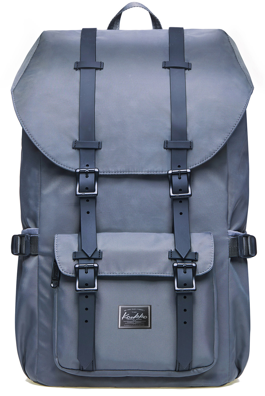 e233baf68c Rucksack Damen Herren Schulrucksack KAUKKO mit großer Kapazität Lässiger  Daypack