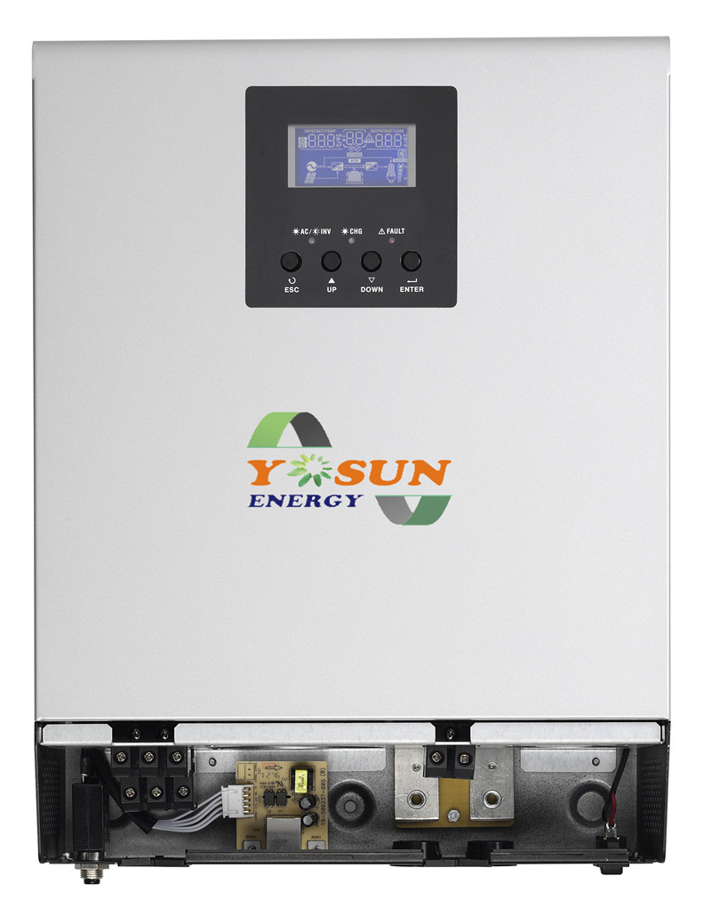1kva Solar Inverter 800w Mppt Pure Sine Wave 24v 25a Off Wavedc Sign Wavesine Diagrampwm Inverterpure Grid