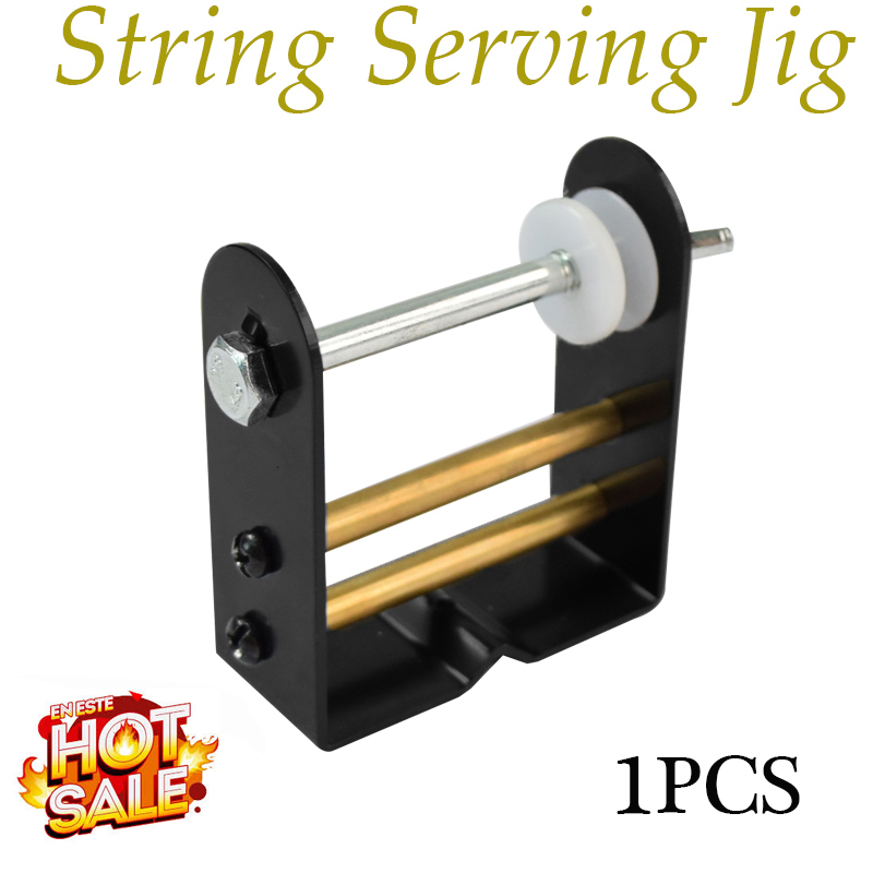 1pc archery bowstring serving thread bow strings server jig tool black color~s