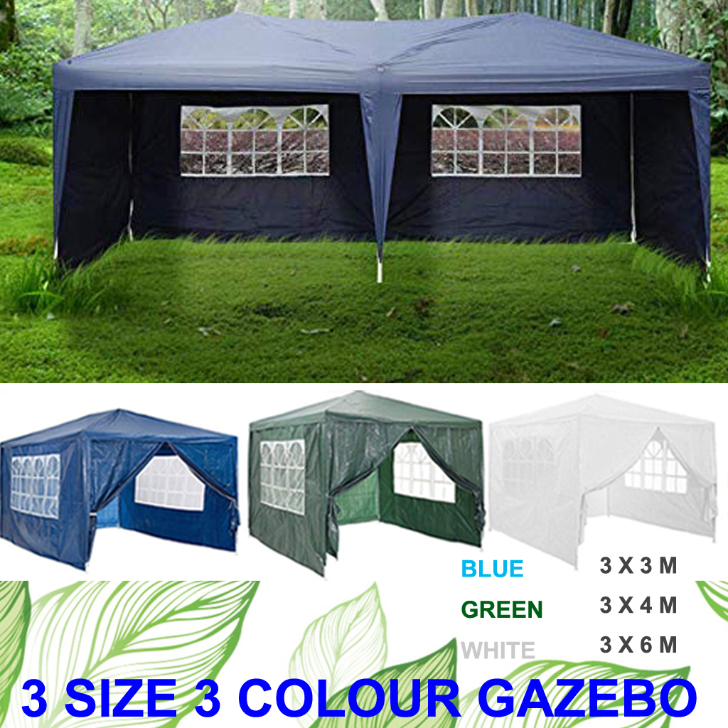 3 x 6M Car Shelter Tent Garden Gazebo Marquee Outdoor Waterproof Party Canopy