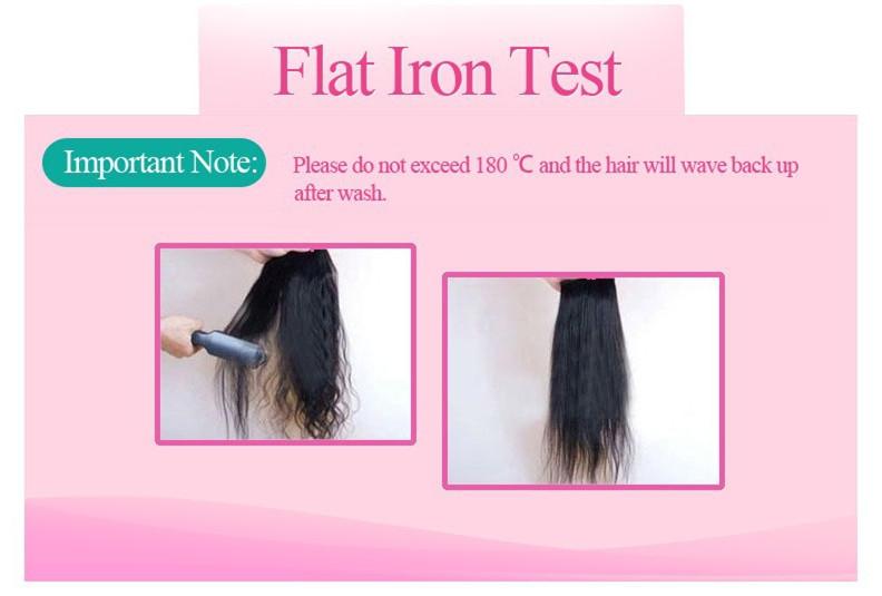 flat iron test