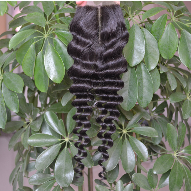 deep wave lace closure middle part-1