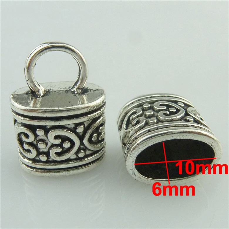 1pc Vintage Silver Alloy 30mm Filigree Tassel Ends Cap Dia.32mm Crafts Jewelry