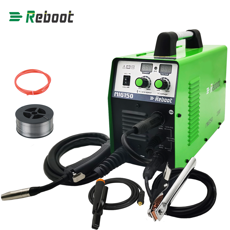 Used Mig Welder 150 220v Flux Core Arc Stick Mma Mig Igbt Inverter Welder Usa 313107448454 Ebay