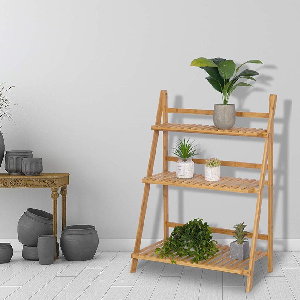 Details zu Pflanzentreppe 4 Ebenen Blumentreppe Blumenbank Pflanzregal  Ständer Wohnzimmer