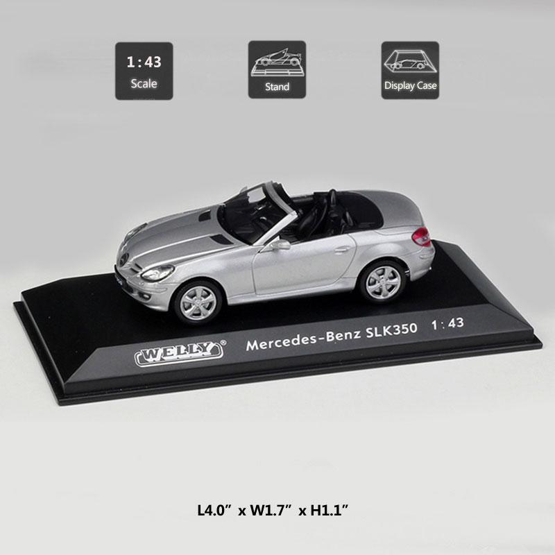Mercedes-Benz SLK350 Convertible 1:43 Die Cast Modellauto Auto Model Spielzeug