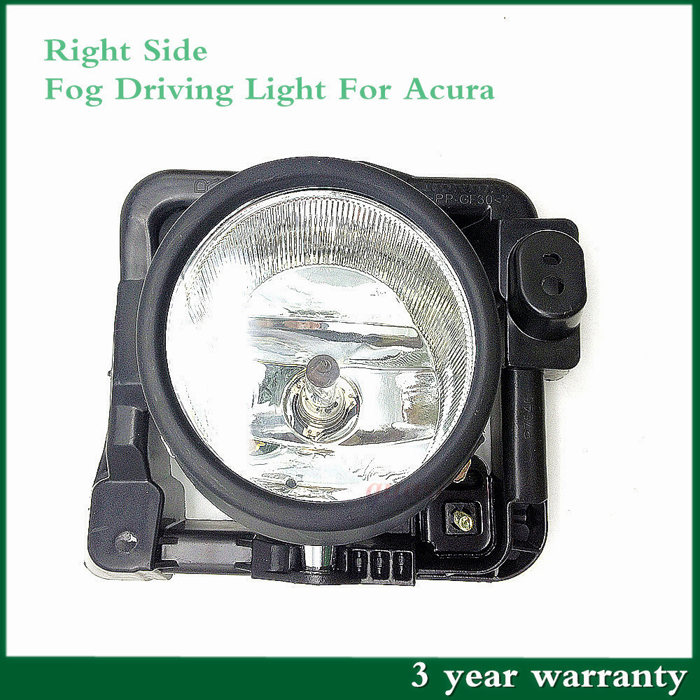 New Right Driver Glass Fog Driving Light Lamp WITH BULB