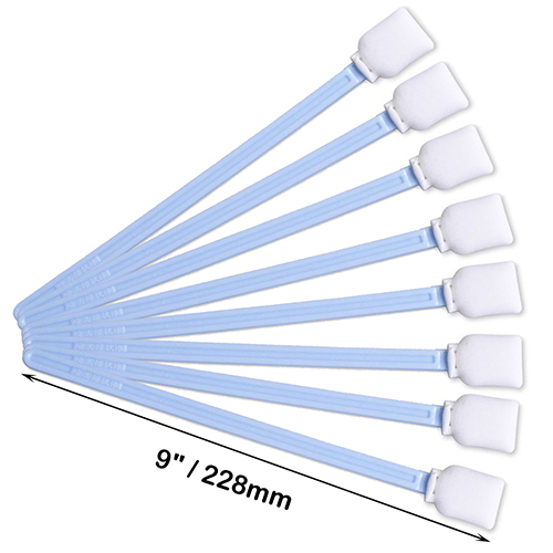 50x Foam Tip Cleaning Swabs White for Keyboard Lens Camera Inkjet Printer Clean
