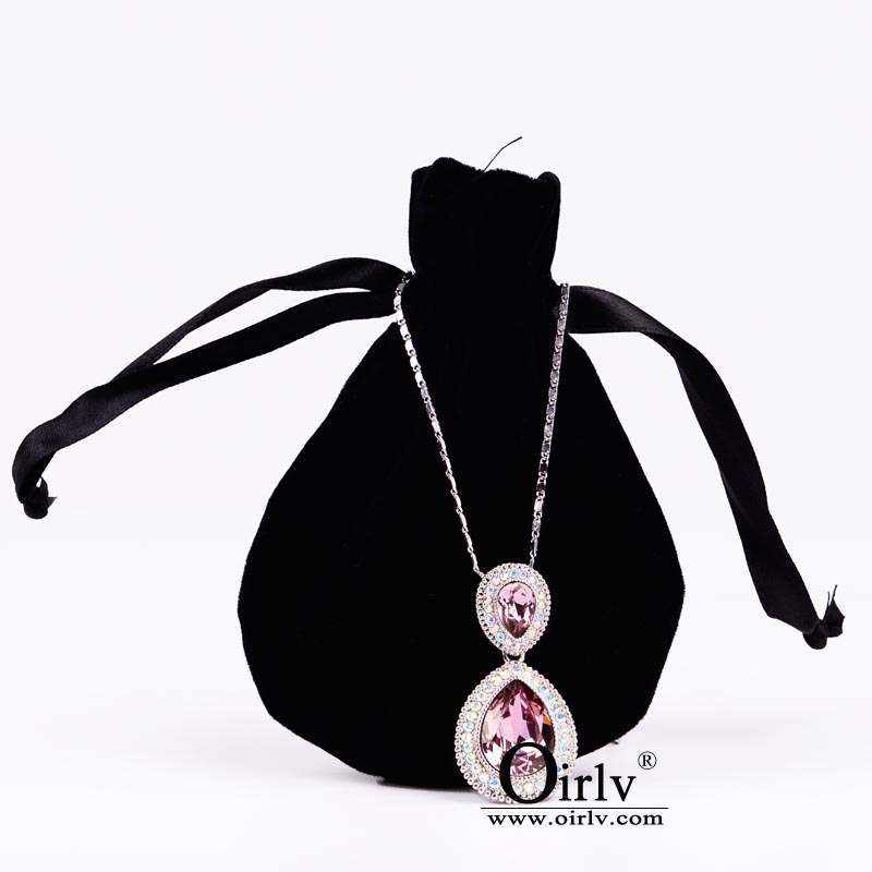 d1575ad68270 Details about Oirlv 50pcs Velvet Jewelry Gift Bag with Drawstring Candy  Bags Jewelry Packaging