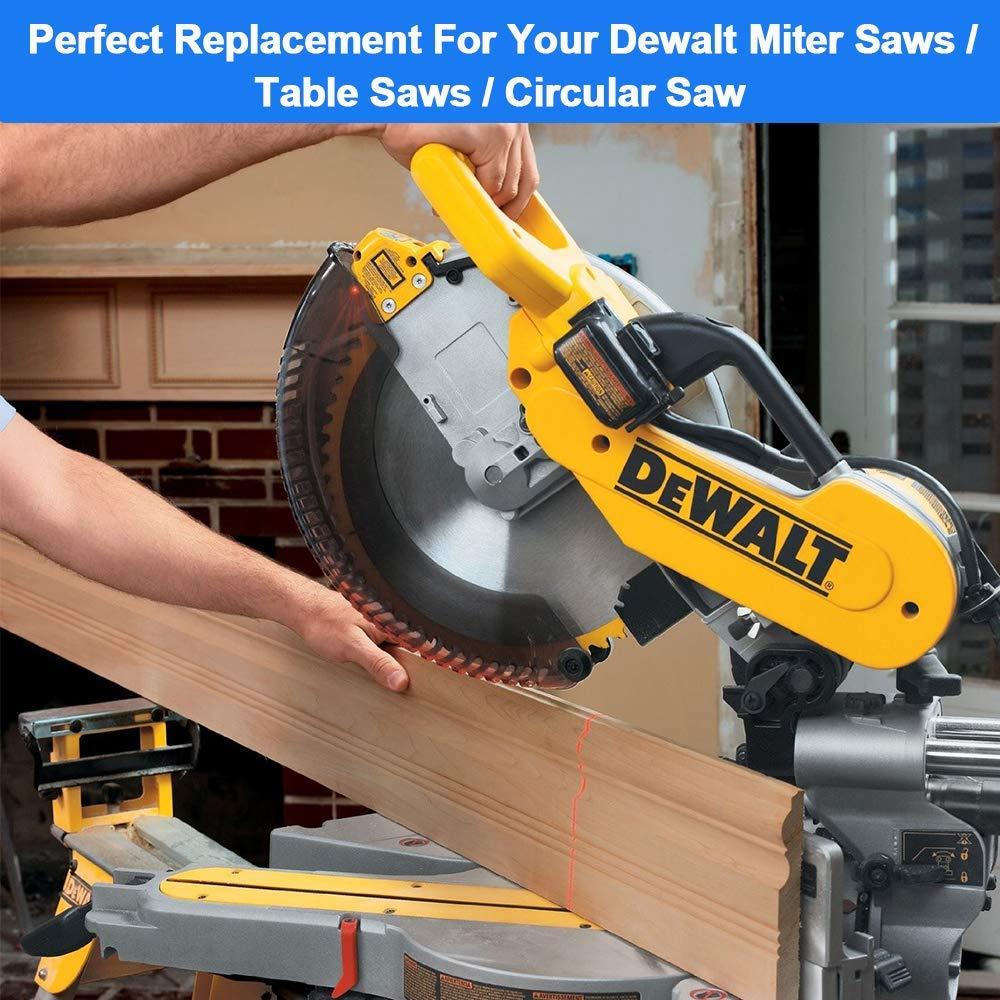 DWS780 2 Pack Dewalt DW718 DW717 Miter Saw Replacement Brush # 381028-02