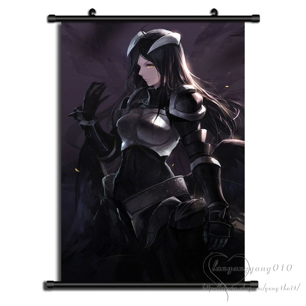 60X90cm Overlord Anime ART Poster Wall Scroll Home Decor 2019 New Style Gift