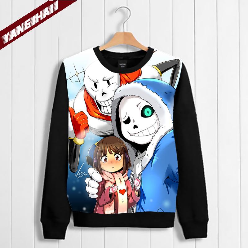 Cool Pullover Game Undertale Sans Papyrus Long Sleeve Sweatshirt Jacket Coat #05