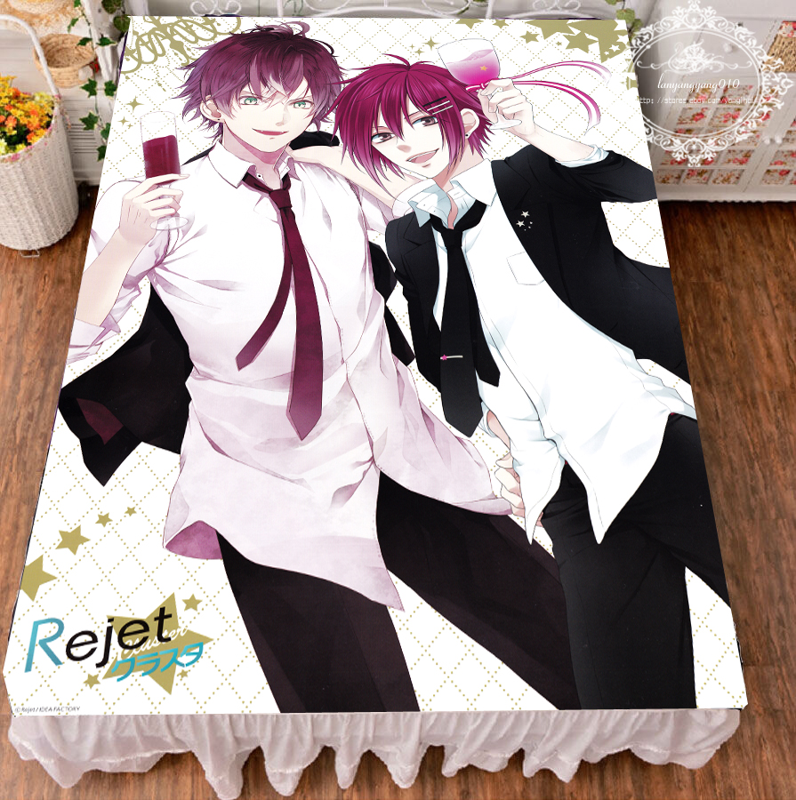 ichigaya arisa Bedding Cosplay Flannel Blanket Otaku Bed Sheet Anime Bang dream