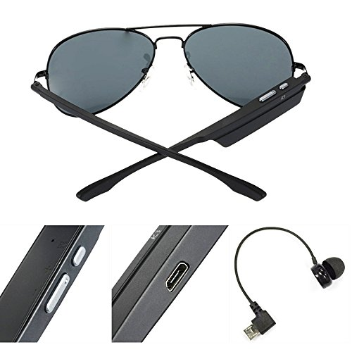 689b6208de K3-A Bone Conduction Wireless Bluetooth Headset Headphones Smart Sunglasses