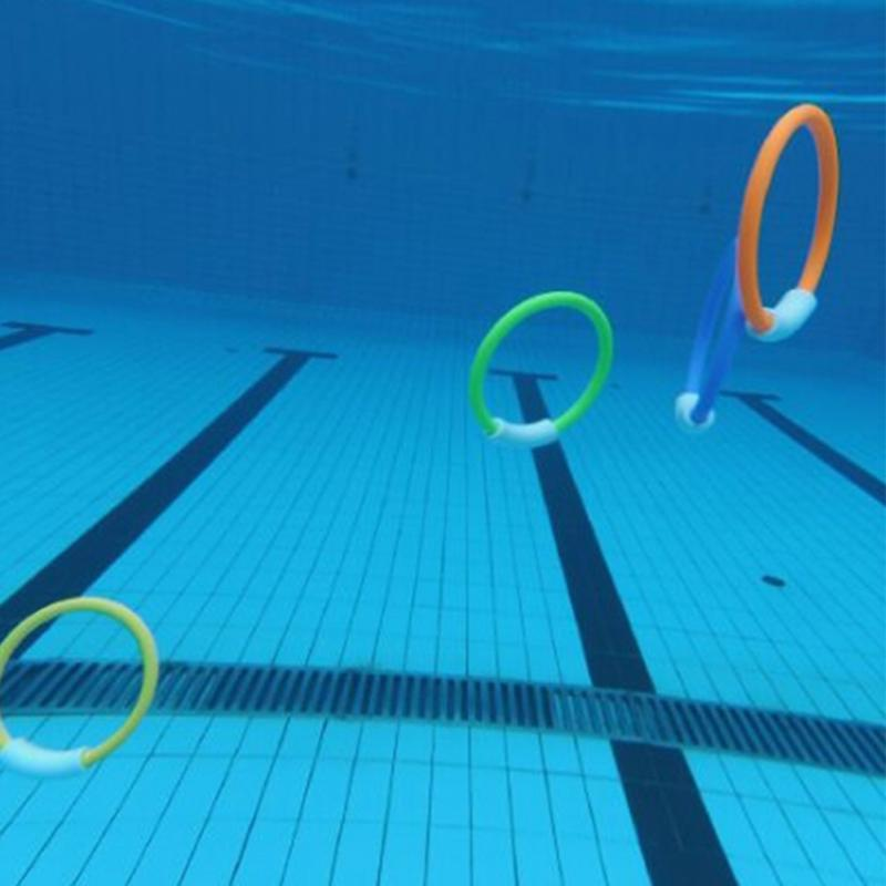 Diving Rings//Sticks//Ball Swimming Pool Underwater Games Toys Swim Kids Dive Sink