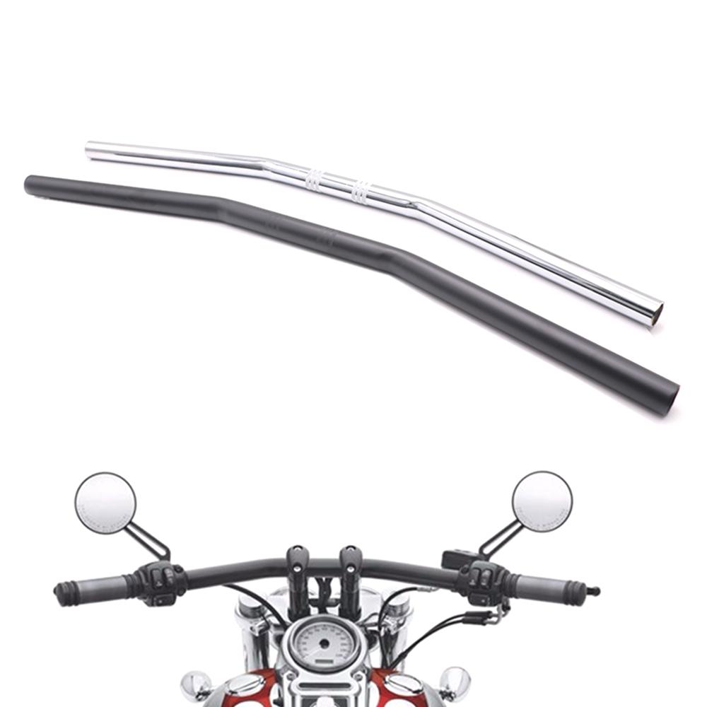 """7//8/"""" 22mm Motorcycle Handlebar Drag Straight Bar For Honda Kawasaki Harley US"""