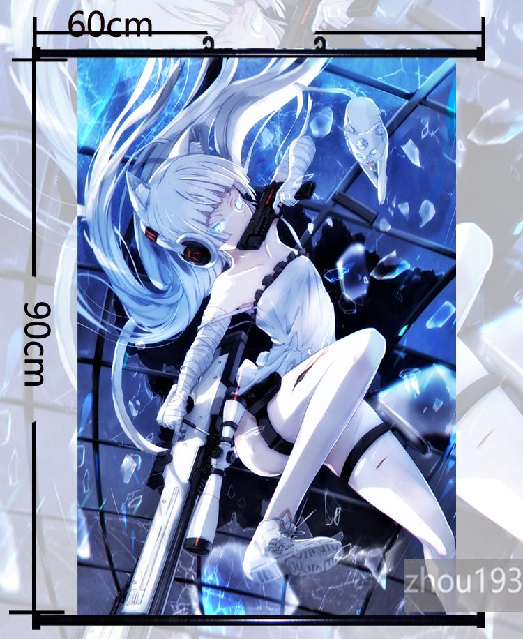 Anime TouHou Project izayoi sakuya Wall Scroll Poster Home Decor 60*90cm#1027