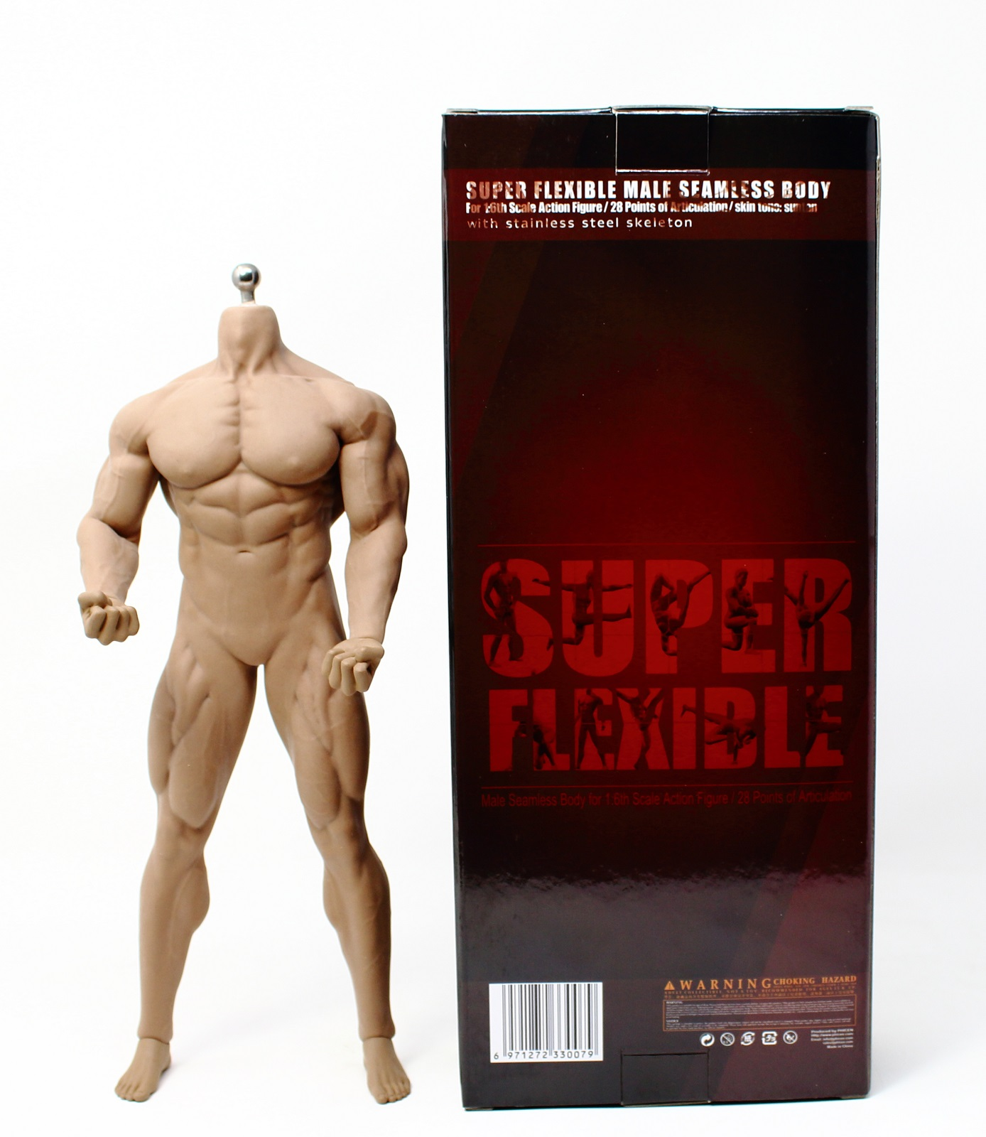 【EXPEDITED SHIPPING 】PHICEN TBLeague 1//6 Male MUSCULAR SEAMLESS Body