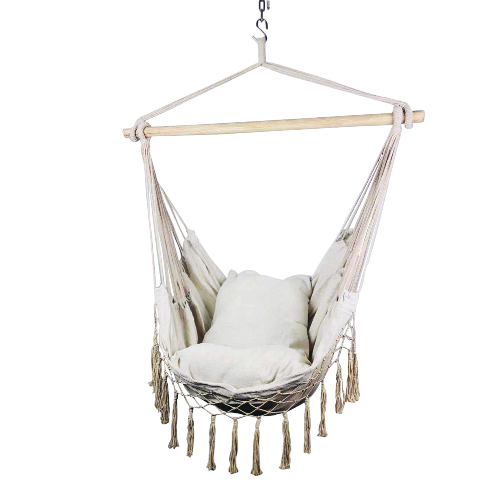 Sporting Goods Hammocks Indoor Outdoor Hanging Rope Hammock Chair Swing Bed 2 Seat Cushions Included Stbalia Ac Id