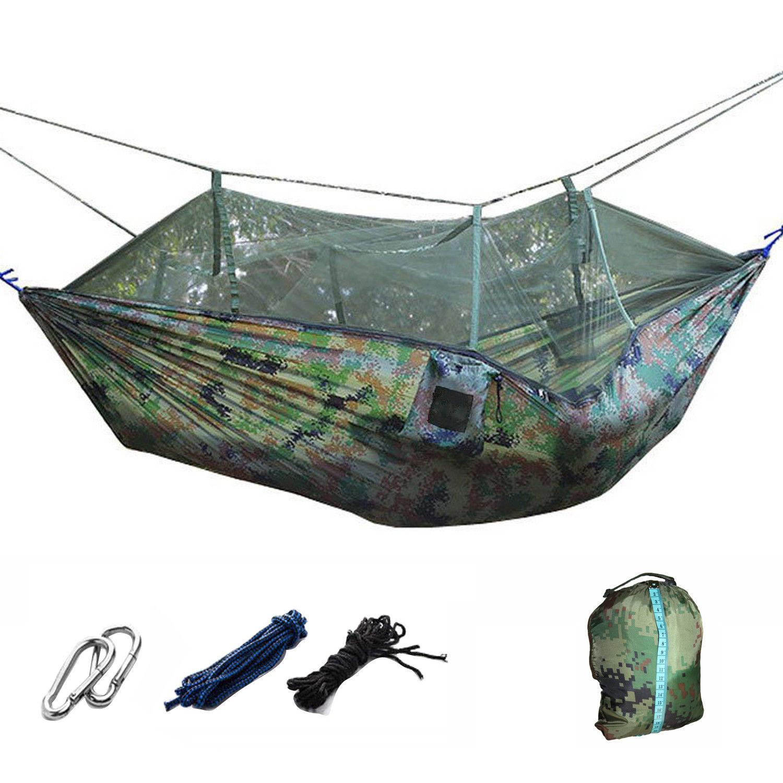 MILITAIRE JUNGLE Hamac moustiquaire camping voyage ...