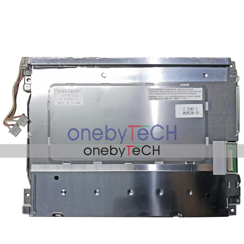 "10.4/"" SHARP LQ104S1DG21 800X600 Industrial Application LCD Display Panel 41 pins"