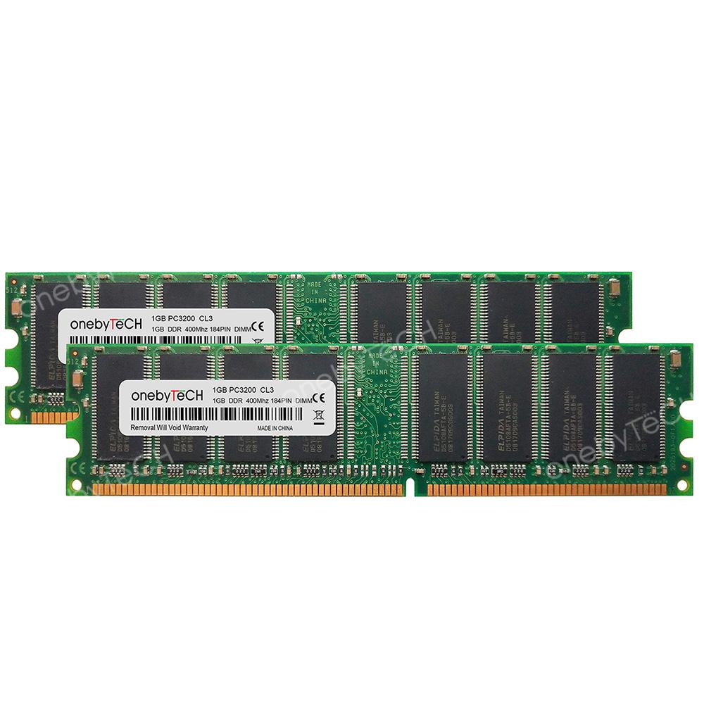 DDR Memory Dell Dimension 3000 2GB 2X1GB NEW
