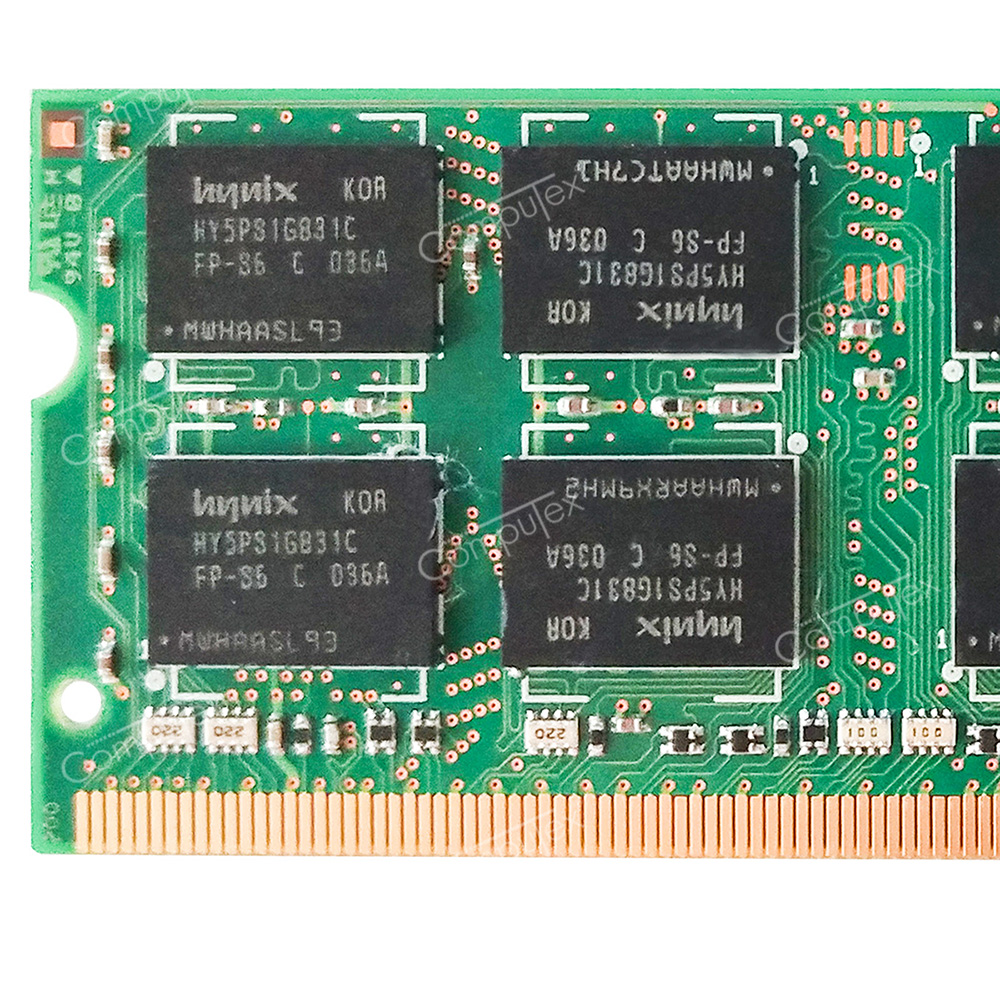 Details about 4GB 2X2GB DDR2 SODIMM PC2 5300 667 Memory For HP-Compaq  nx6310 nx6325 Business