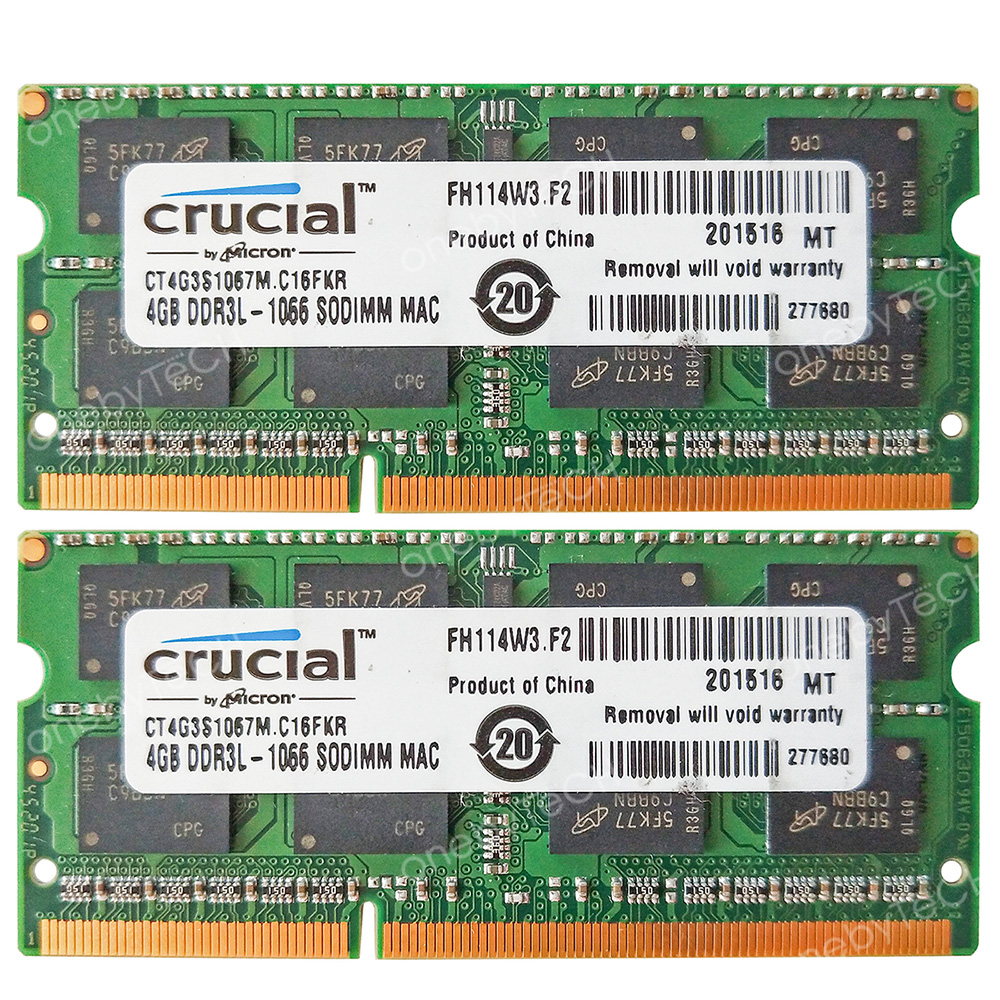 8GB 2X 4GB DDR3 RAM MEMORY FOR DELL STUDIO 17 1745 1747 1749 XPS 13 1340 LAPTOPS